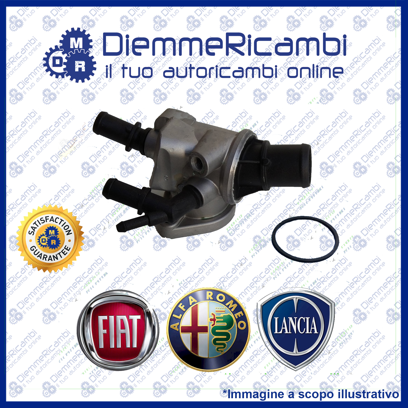 VALVOLA TERMOSTATICA FIAT BRAVO II 1.9 MULTIJET 150CV 06-/> TERMOSTATO